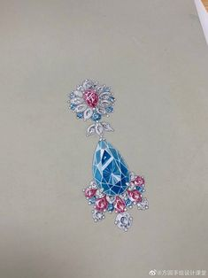 Jewelry Sketch, Jewellery Sketches, Jewelry Photography, Fashion Photography, Jewelry Illustration, Treasure Chest, Gouache, Fashion Clothes, Belly Button Rings