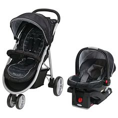 Graco Aire3 Click Connect Travel System, Gotham, 2016 Amazon Most Gifted Strollers  #BabyProduct