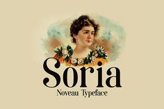 Soria is a free modern serif typeface, inspired by the beauty of art nouveau. This font is expertly crafted to complement both modern and vintage design styles. The Soria font is one of those cool fonts, that you can keep using over and over again. Free Typeface, Serif Typeface, New Free Fonts, New Fonts, Font Free, Free Fonts Download, Art Nouveau, Font Design, Graphic Design