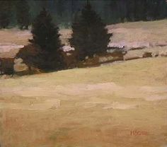 Marc Bohne - Palouse Landscapes, 6 x 7 oil on panel