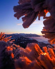 Dobré ránko a krásny oddychový víkend  #praveslovenske od  @el__pitr Mount Everest, Celestial, Mountains, Sunset, Nature, Travel, Outdoor, Pictures, Outdoors