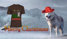 Top 10 Siberian huskie Christmas t-shirts - dogmal Husky Cross Breeds, Christmas Gift For You, Merry Christmas, Dogs, T Shirt, Merry Little Christmas, Supreme T Shirt, Tee Shirt, Pet Dogs