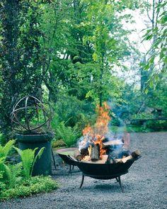 Cottage, Fire Pits, Outdoor Decor, Garden, Joy, Camping, Instagram, Home Decor, Campfires