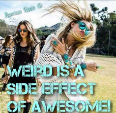 ☮ American Hippie ☮ Weird is Awesome