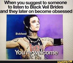 bvb, blackveilbrides, andybiersack, music, meme