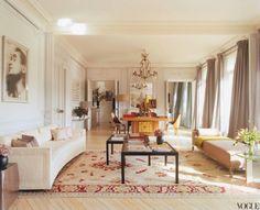 Antic&Chic. Decoración Vintage y Eco Chic: [Decoración muy Chic] Un apartamento en París sereno y delicado