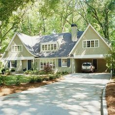 COTY 2015 Guilford Green Exterior Color Inspiration  KitchAnn Style