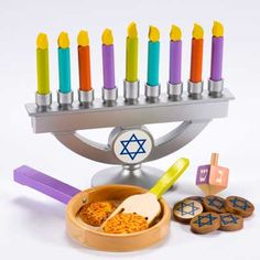 Hanukkah Set for little ones to engage in holiday traditions