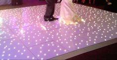 LED Starlight Dance Floor - Bouncy Castle Hire in Leeds and Bradford