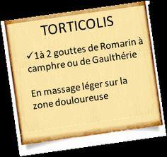 soigner un torticolis romarin Soigner un torticolis rapidement avec les huiles essentielles