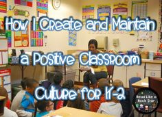 Read Like a Rock Star's Positive Behavior Management Ideas!