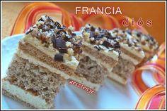 Gesztenye receptjei: Francia diós