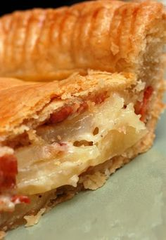 Potato Bacon Torte    (sugarandspice-celeste.blogspot.com via Melissa d'Arabian)