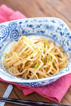 Spicy Bean Sprout Salad   Easy Japanese Recipes at JustOneCookbook.com