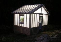 greenhouses after dark ;)