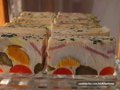 Czech Recipes, Ethnic Recipes, No Salt Recipes, Easter Recipes, Healthy Snacks, Brunch, Appetizers, Food And Drink, Treats