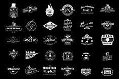 Komplit - 30 Badges Set by Suhandi on @creativemarket