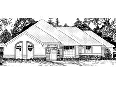 Eplans New American House Plan - Four Bedroom New American - 1725 Square Feet and 4 Bedrooms from Eplans - House Plan Code HWEPL57385