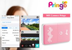Portable Wi-Fi Photo Printer - Prints Photos From Smartphone, Free Android and iOS Apps, 2.1 x 3.4 Inch Image