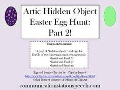 FREEBIE Friday: Artic Hidden Object Easter Egg Hunt: Part 2!