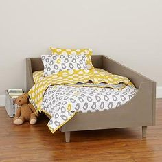 Hampshire Modern Arched Toddler Bed Clay