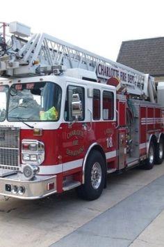 Charlotte Fire Department Ladder Truck