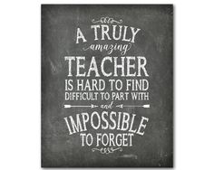 Teacher Appreciation Print A truly by SusanNewberryDesigns