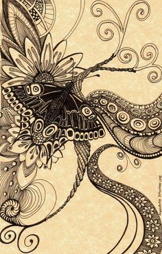 Psychedelic butterfly1 by Artwyrd.deviantart.com