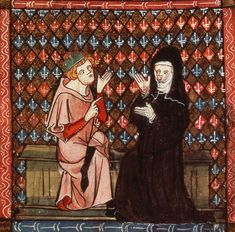 The Great and Tragic Medieval Love Story of Abelard and Heloise Great Love Stories, Love Story, Missed In History, Canon Law, Spiegel Online, Medieval Manuscript, History Class, 12th Century, Dark Ages