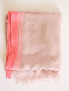Happy Pink Scarf