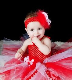 Items Similar To Love Hearts Red Feathers Tutu Girly Baby Valentine Crochet Dress Infant Toddler Girls Fancy Newborn Skirt Birthday Party On Etsy
