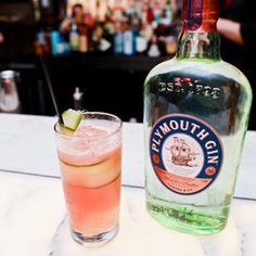 Speedwell Cooler. Gin, Aperol, Absinthe and Watermelon Juice? Yes please.
