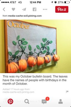 Idea for fall