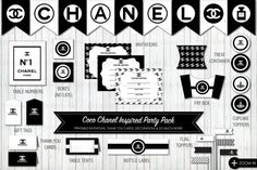 coco chanel printables package: 21 тыс изображений найдено в Яндекс.Картинках