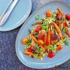 Couscous, Japchae, Paella, Ethnic Recipes, Food, Salads, Essen, Meals, Yemek