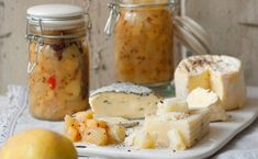 Quittenchutney Chutneys, Dairy, Cooking, Pesto, Chili, Food, Marmalade, Salads, Chutney Recipes