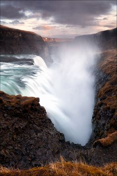 The force of nature, Gulfoss | Iceland (y D-P Photography)