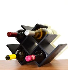 Venezia 8 Bottle Tabletop Wine Rack
