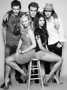 The Vampire Diaries Cast May I just say that Klaus is very attractive? 'Cause he is...
