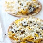 Butternut Squash Pizza from InspiredRD.com #glutenfree #dairyfree