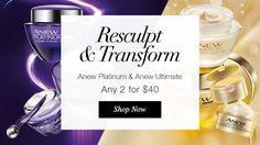 Transform and Redefine. View Avon Anew Specials at https://www.youravon.com/crookardpolite #avon anew #avon products #avonrep