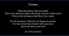Ochre.: (if you'd only) dream a little dream of me