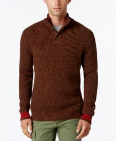 TOMMY HILFIGER Tommy Hilfiger Men'S Barnes Knit Sweater. #tommyhilfiger #cloth # sweaters