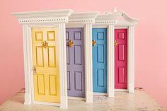 Tooth Fairy Door! So perfect! | Genius! | Pinterest | Tooth fairy doors