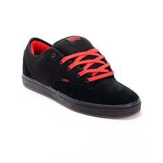 Vans AV Era 1.5 Black & Red Skate Shoe