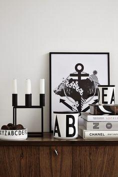 Design Letters van Arne Jacobsen, je leest het op http://www.stijlhabitat.nl/design-letters-van-arne-jacobsen/