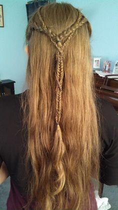 Elvish braids <3
