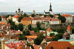 Toompea is a limestone hill in the central part of the city of Tallinn, Estonia.
