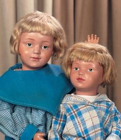 Private Collections: 81 Rare American Wooden Character Doll,Model 308,by Schoenhut