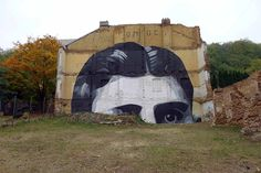 Humorous and Political Street Art by Escif